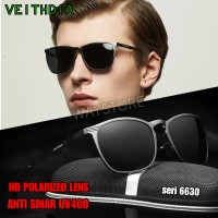 kacamata hitam sunglass vintage pria wanita polarized UV400 V6630