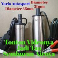 Pompa Air Celup diameter 51mm 12v