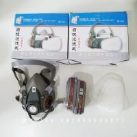 Masker Gas Respirator / Masker Cat / Masker Laboratorium - 6200 3M