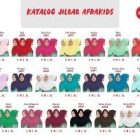 Jilbab Anak kerudung Afrakids afra kids