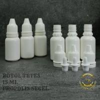 botol tetes 15 ml segel/botol tetes mata 15 ml/botol plastik
