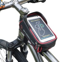 Tas Frame Depan Sepeda MTB Anti Air Ukuran 6 Inci
