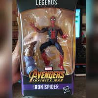 Action Figure Marvel Legends Iron Spiderman Avengers Infinity Hasbro