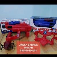 Mainan tembakan infrared Bugs Hunter homyped pistol infra merah hadiah