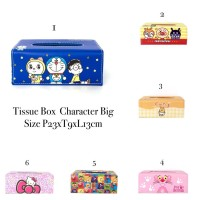 Tissue Box Character Big, Tempat Tissue Kotak Import