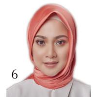 Jilbab Silk Segi Empat Polos HP006