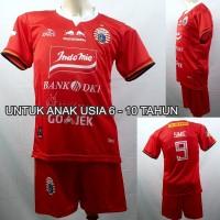 Setelan Baju/Kaos Sepak Bola Anak Persija Jakarta 2019-2020 Home