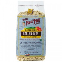 Bob s Red Mill Organic Old Fashioned Rolled Oats 453 g