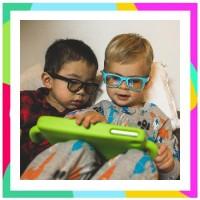 Real Kids Screen Shades Bluelight Protection Glasses Kacamata Anti Rad