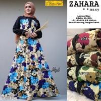 Baju Gamis Wanita motif bunga