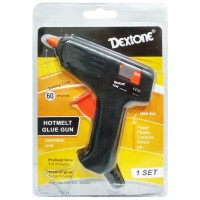 Dextone Hotmelt Glue Gun 10 Watt ( KELIPATAN 1 DUS @12 PCS )