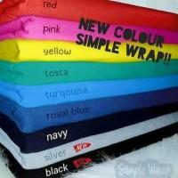 Hanaroo Simple Wrap Gendongan Kaos 2In1 Geos Bayi Praktis Best