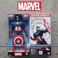 CAPTAIN AMERICA 9 Action Figure Marvel Avengers - HASBRO ORI mainan