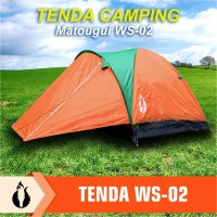 Matougui WS002 Tenda Camping Hiking Double Layer Windproof /Waterproof