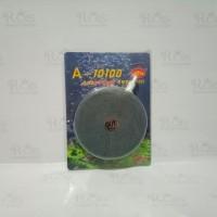 air stone bulat pipih / air stone gepeng diameter 10cm