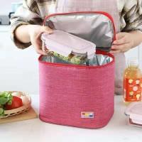 AK1 Tas Bekal Makan / Korea Cooler Lunch Bag/ Tas Kotak Makan