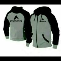 jaket Hoodie Eiger rompi terbaru sweater Hoodie Jumper M L XL