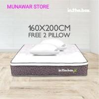 Kasur Spring Bed inthebox (X) Size 160x200 (Queen)