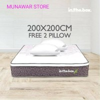 Kasur Spring Bed inthebox (X) size 200x200 (Super King)