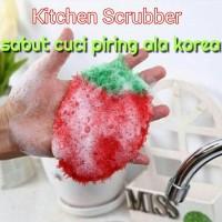 Spon Sabut alat Pencuci Piring ala Korea
