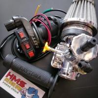 Paket Karburator Motor Nsr Pe28 Crum Panom Plus Gas Spontan Tombol Dan