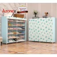 Rak Sepatu Serbaguna 12 Ruang Shoe Rack Portable XG12 - Multicolor