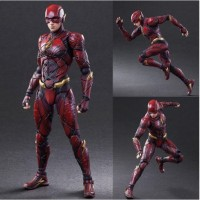 """10"""" Justice League The Flash Figure Play Arts Kai Collectible Toy Gift"""