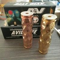 AV Gyre Dimple Mod Clone 24 mm Mechanical Hybrid Vape Avid Lyfe Gire D
