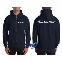Jaket Hoodie Zipper Yamaha LEXI
