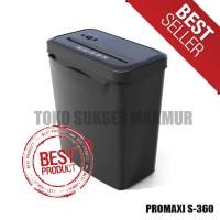 Paper Shredder / Penghancur Kertas Promaxi S360 Plus