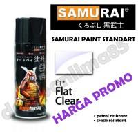 Samurai Paint 128A Clear Doff Cat Semprot/ Pylox/Pilox/Pilok/Motor