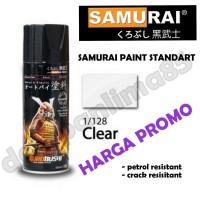 Samurai Paint 128 CLEAR/Bening Cat Semprot/Pylox/Pilox/Pilok/Helm/Moto