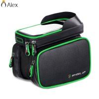 ALID Tas Frame Depan Sepeda Anti Air dengan Case Smartphone 6.2 Suppor