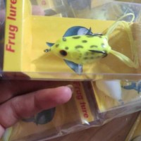 Umpan kodok tiruan daido super frog 3.5cm
