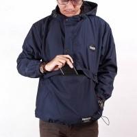 Jaket cougle taslan pria termurah - Biru navy, M