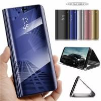 FLIP COVER SAMSUNG J800 J8 2018 MIRROR CASE STANDING PHONE ORIGINAL
