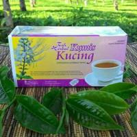 obat herbal khasiat ampuh teh kumis kucing original tazakka alami