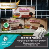 obat herbal khasiat ampuh teh kulit manggis original tazakka alami