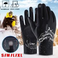 Sarung Tangan Motor Full Finger Anti Air / Angin untuk Musim Dingin