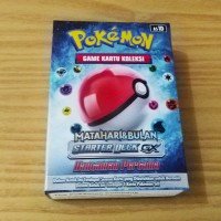 Pokemon Game Kartu Koleksi Matahari dan Bulan Starter Deck GX Hantaman