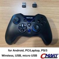 Rexus Gladius GX100 Wireless Gamepad pubg android USB PC Joystick