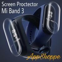 Screen Protector Xiaomi Mi Band 3 Wristband Film aksesoris tablet