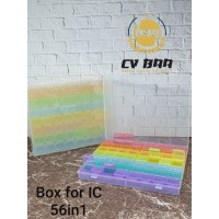 BOX FOR IC 56 IN 1
