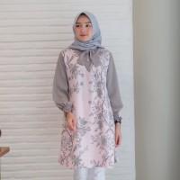 maveela tunik/gamis murah/gamis syari/baju kondangan/seragam muslim