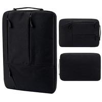Tas Laptop 14 inch Jinjing Pocket sleeve / soft case Waterproof Black