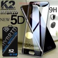 TEMPERED GLASS 5D warna K2 Premium Quality XIAOMI REDMI 6A NOTE 6