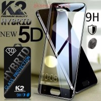 TEMPERED GLASS 5D warna K2 Premium Quality XIAOMI REDMI 6 PROMI 8