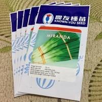 Benih Bibit Daun Bawang MIRANDA 5 gram Known You Seed / Hidroponik