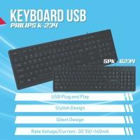 Philips K234 Wired Keyboard USB
