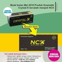 Dijamin Asli Original Ori NCX NC X Crystal X Nasa Sertifikat BPOM